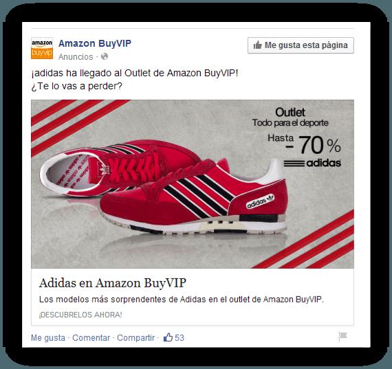 Anuncio Facebook Ad