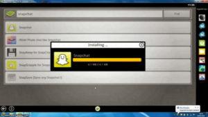 snapchat app de mensajería instantánea