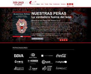 web La verdadera fuerza del león