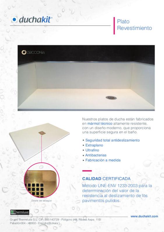 Diseño Ficha producto Duchakit