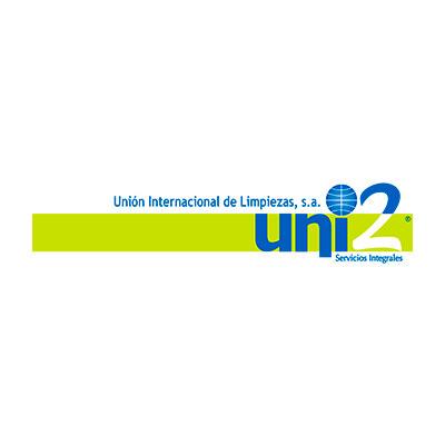 logo unión internacional de limpieza Uni2