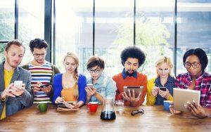 millennials, siempre conectados