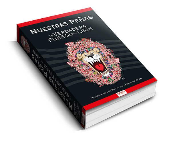 Diseño cubierta libro Nuestras Peñas