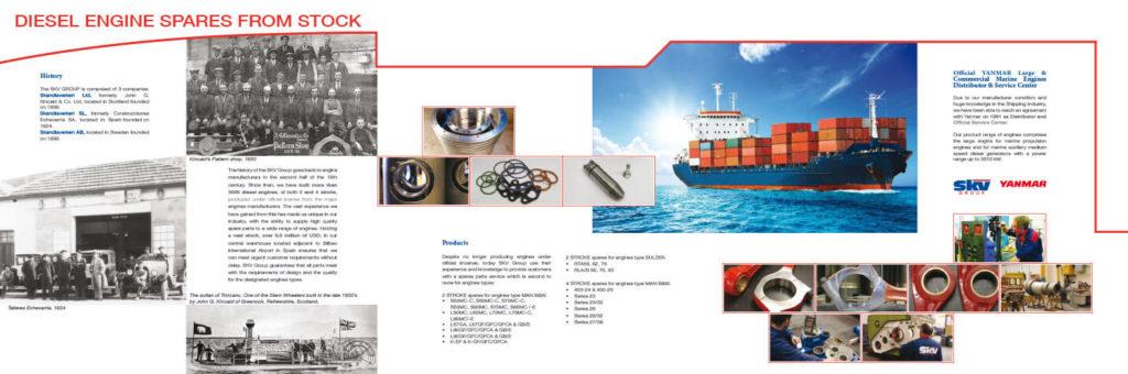 Diseño Catálogo corporativo SKV interior