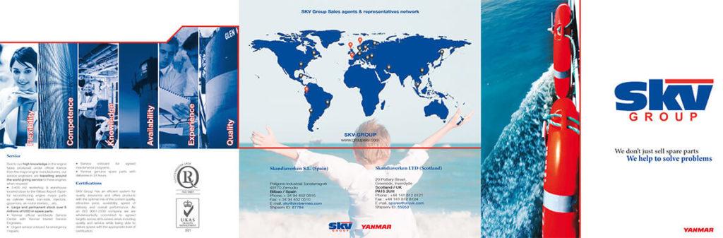 Diseño Catálogo corporativo SKV exterior