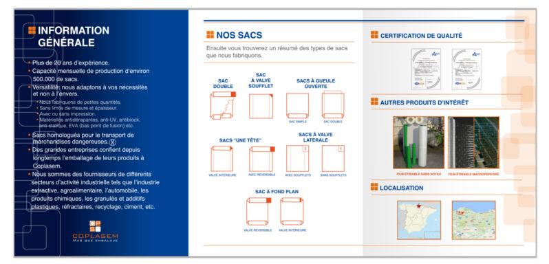 Coplasem diseño gráfico catálogo de producto