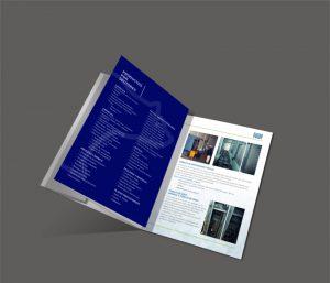 Diseño gráfico catálogo servicios Systemfrost