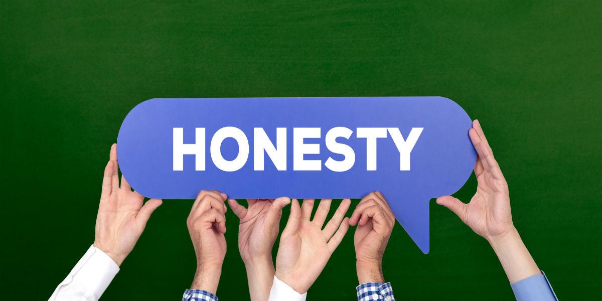 valor empresarial: eficiencia, liderazgo, servicio, honestidad