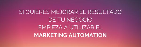 automatización para mejorar los resultados de marketing